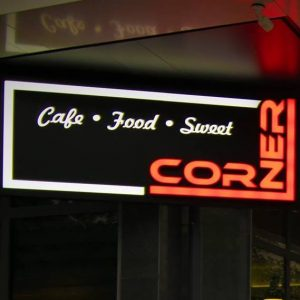 CORNER Cafe, Food and Sweet